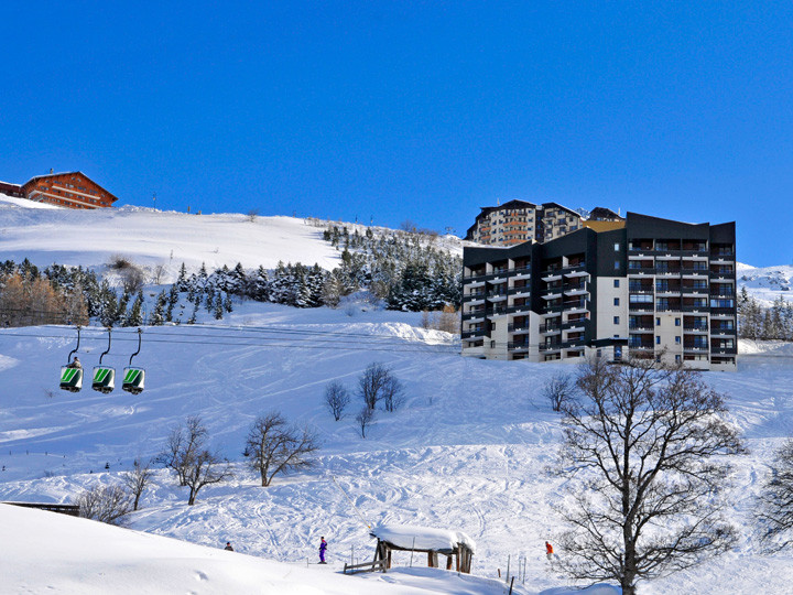 residence vacances les menuires neige