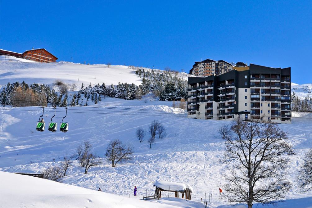 vacances alpes les menuires neige