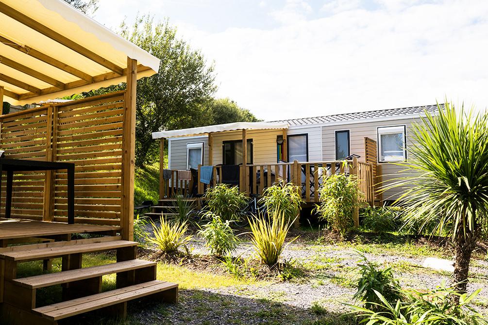 vacances camping mobilehome pays basque famille erreka azureva