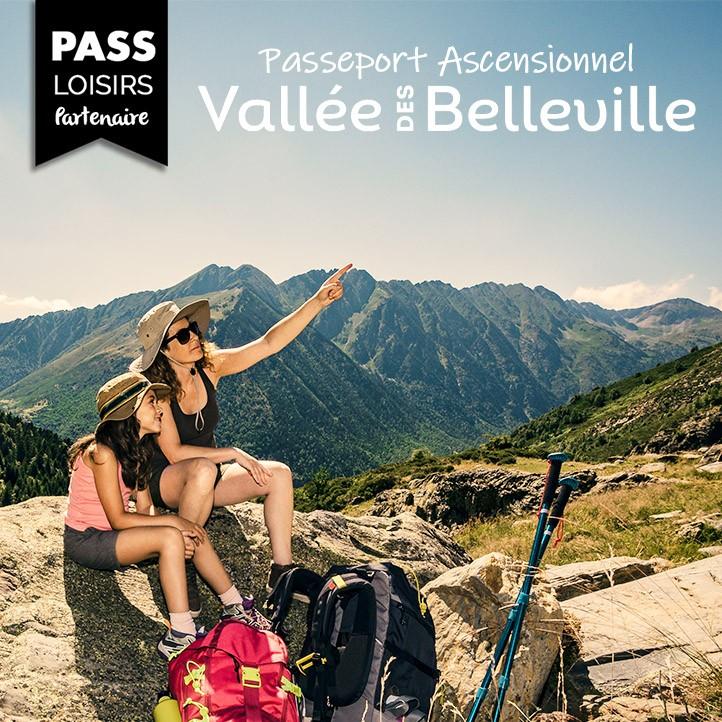 passeport ascentionnel valle des belleville les menuires vacances